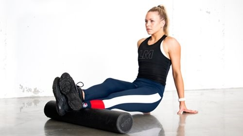 Foam roller for leggmuskler