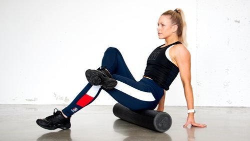 Foam roller for setemusklene
